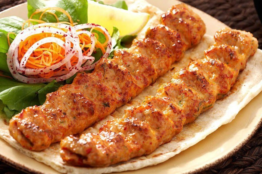 Photos-of-Typical-Pakistani-Dishes-Mouth-watering-Seekh-kababs-Tasty-Pakistani-food
